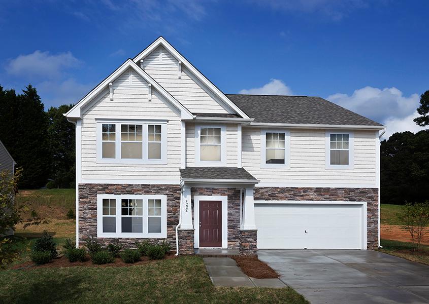 new homes in Winston-Salem at Caleb's Creek