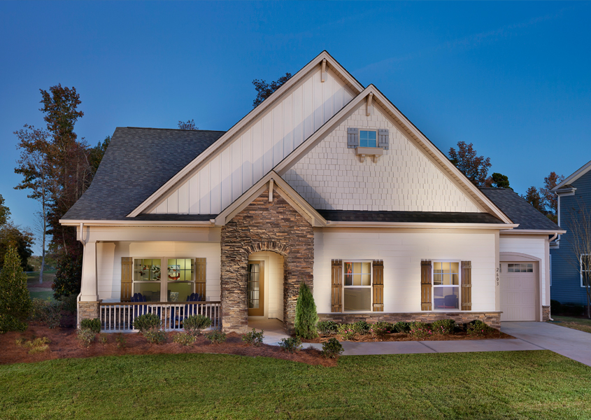Montcrest at Lake Ridge - active adult community in Tega Cay, NC