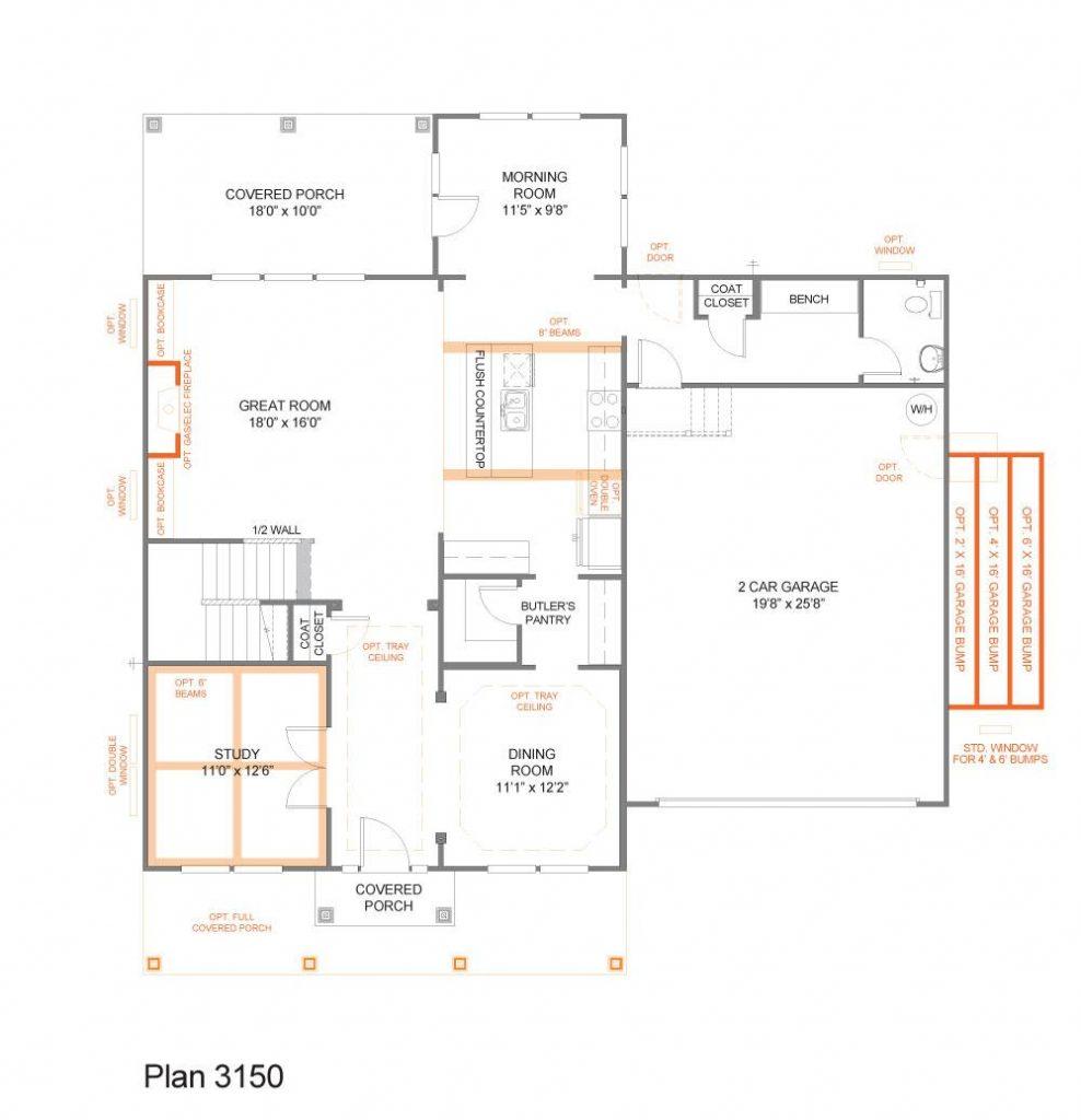 Floor Plan Focus The Bedford Trueblog