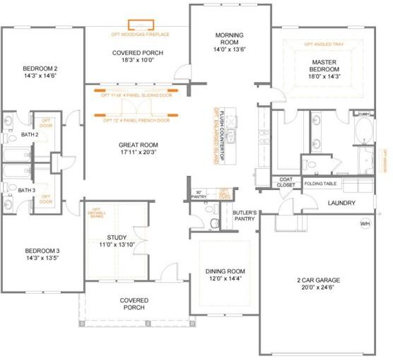 true homes floorplans